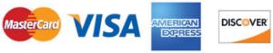 visa mastercard discover american express credit cards logo