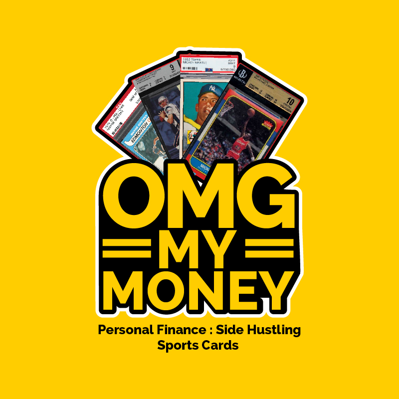 omg my money podcast logo
