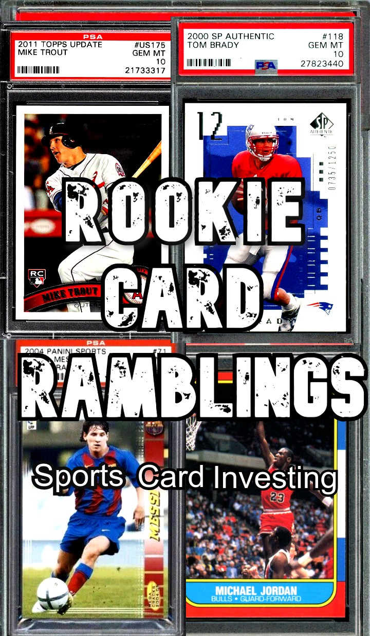 sponsored ad rookie card ramblings