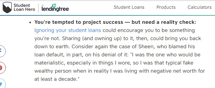student loan hero lending tree feature snippet3