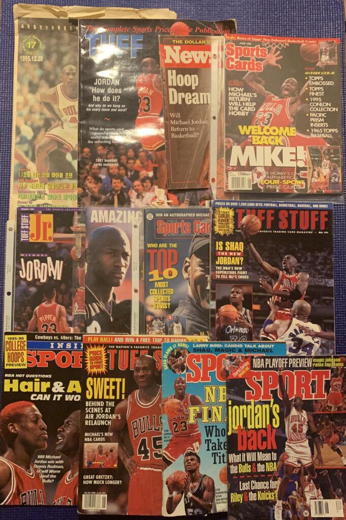 michael jordan sports magazine collection