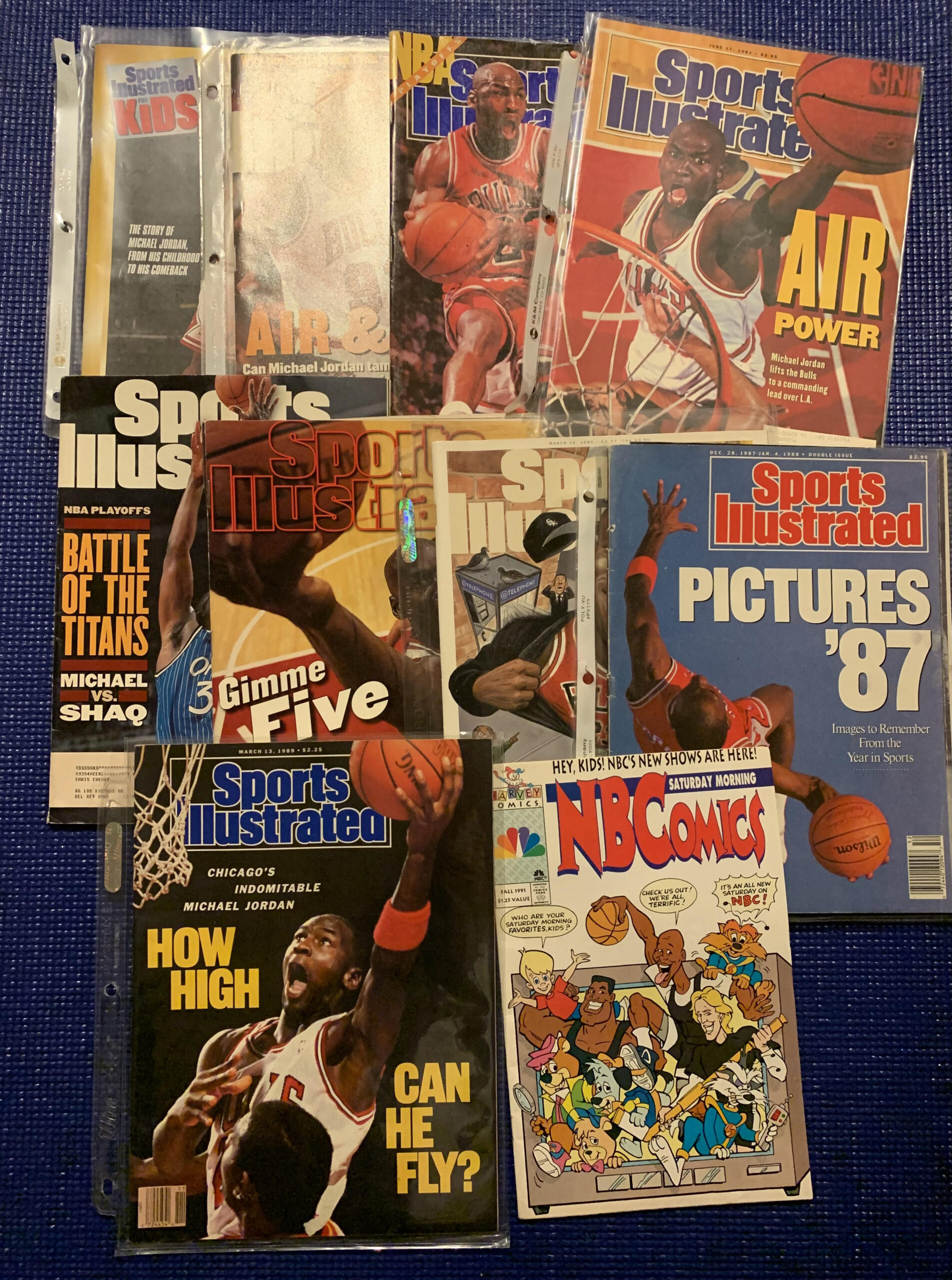 michael jordan sports magazine collection sports illustrated