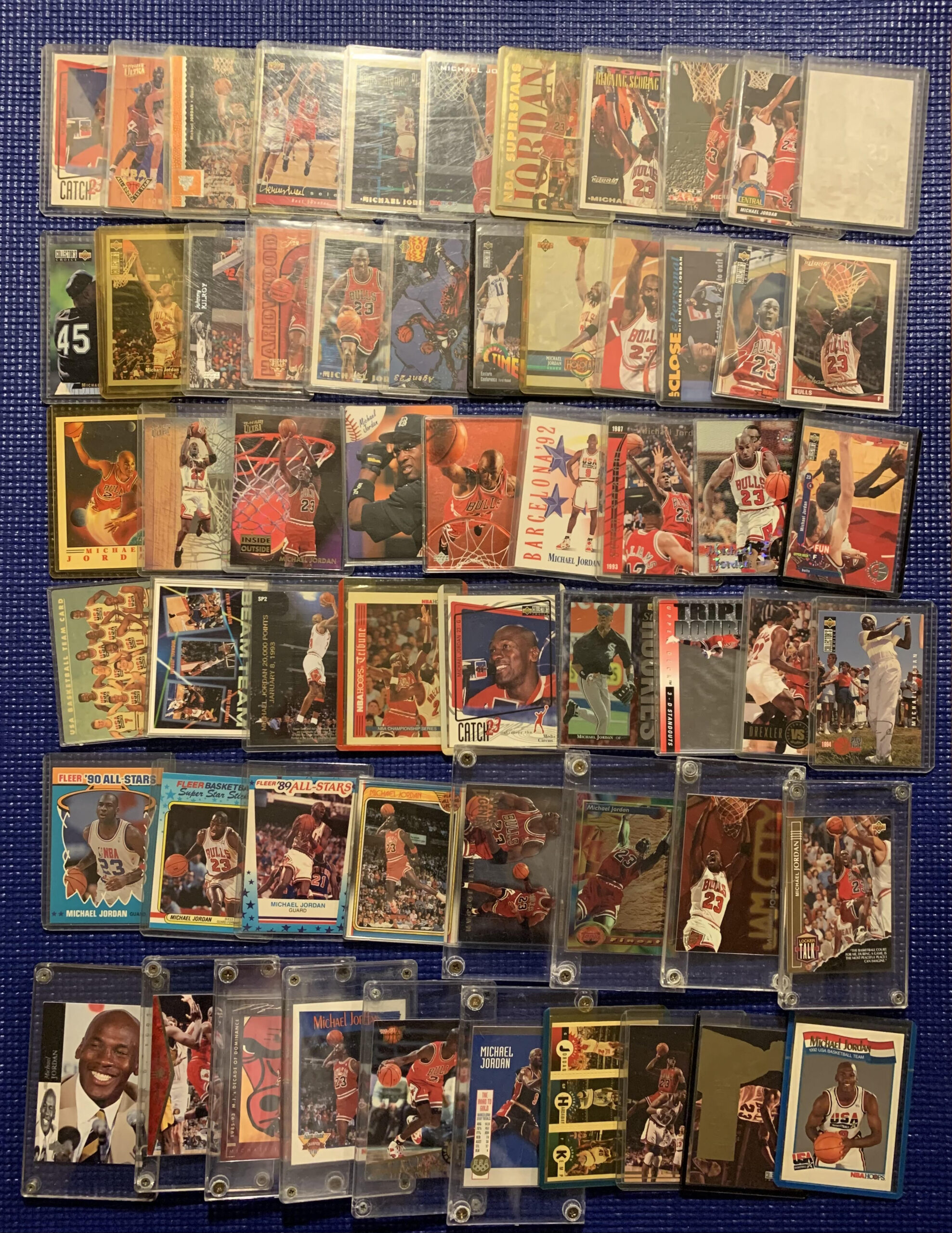 michael jordan sports cards collection unboxing